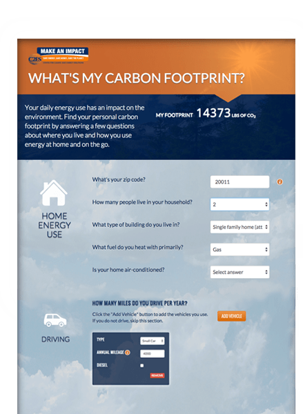 Case Study: Carbon Calculator - online tool and application
