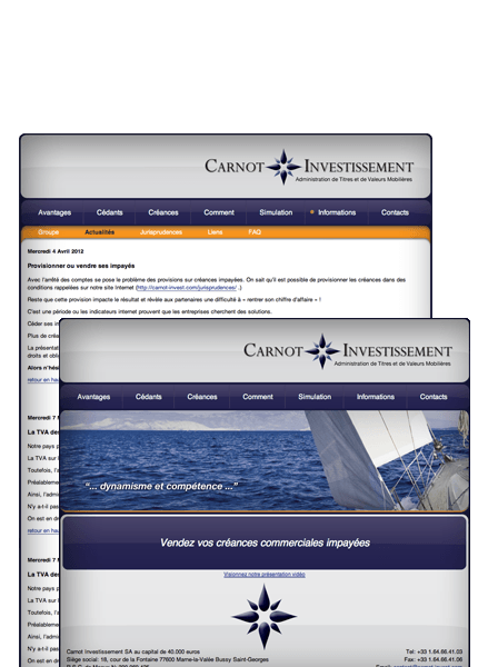Carnot-Invest.com Screenshot
