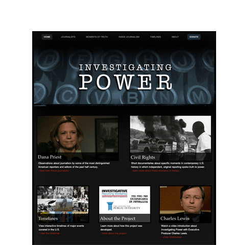 InvestigatingPower.org Homepage