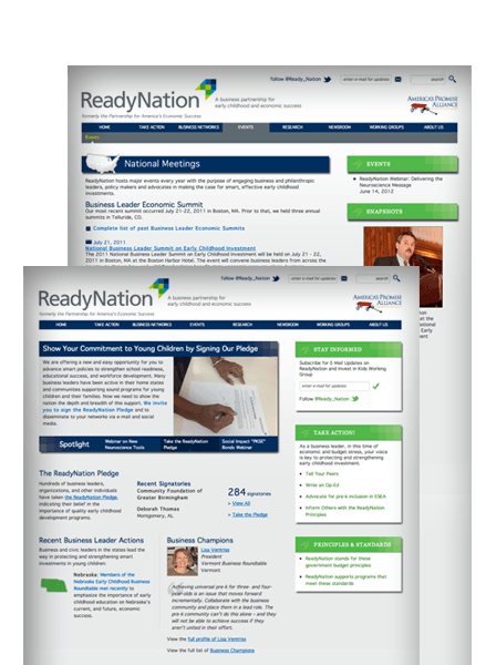 ReadyNation.org Screenshots