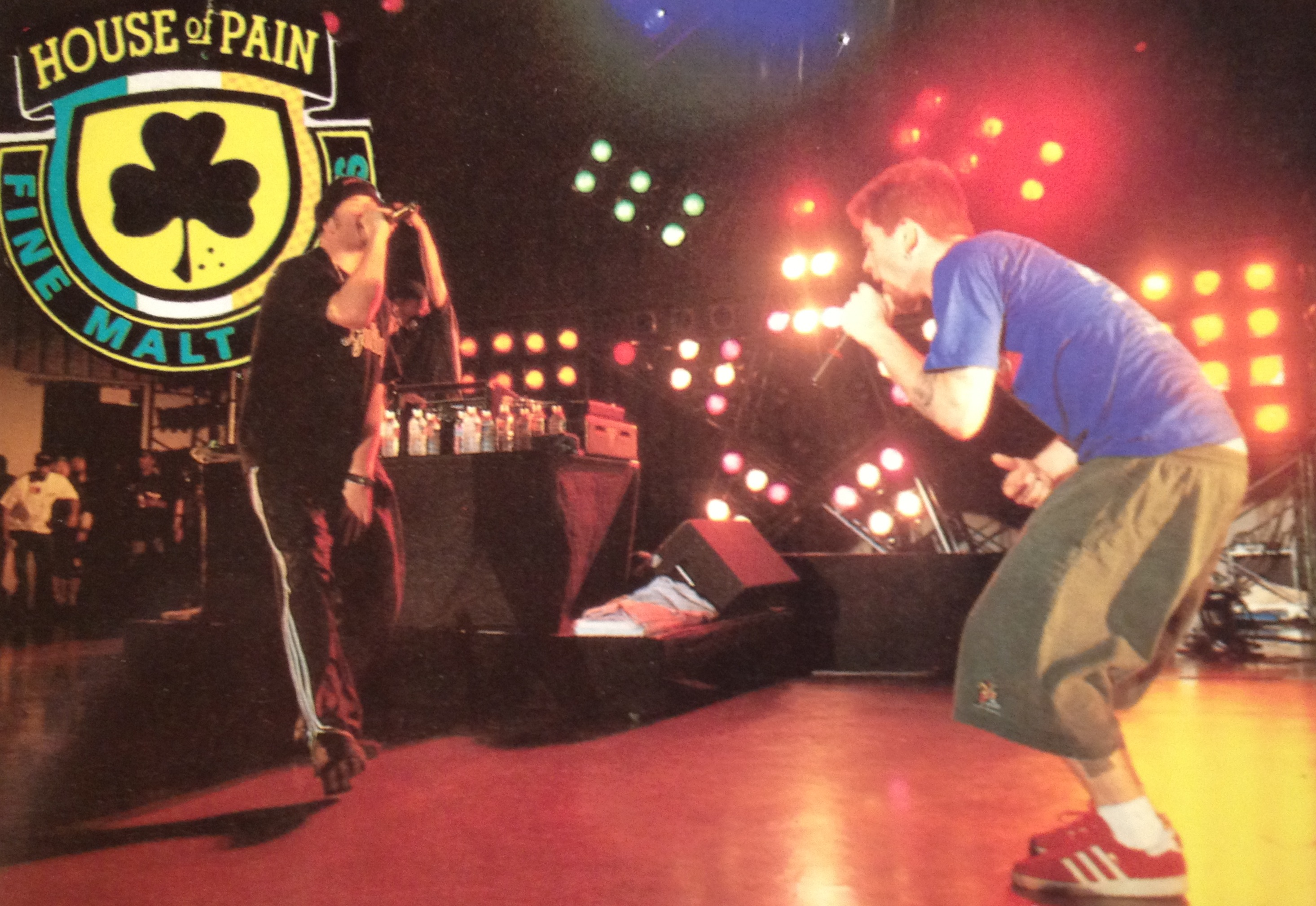 Shlog show log music concert reviews house of pain w for House music 1993